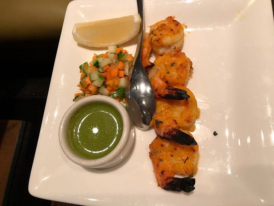 Rasika: Palak chaat Mango shrimp Duck vindaloo Lamb chettinad
