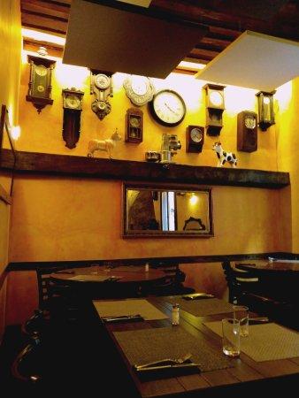 Apartamentos El Tiempo : sala colazione