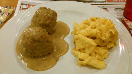 Tamaqua, PA: Chicken crouquettes and mac/cheese