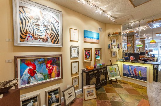 Ocean Galleries: A view of our gallery