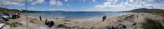 Panorama of Ventry Beach