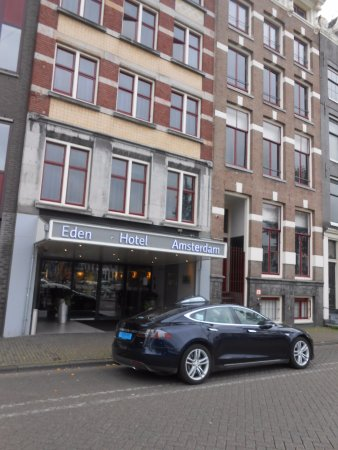 Eden Hotel Amsterdam: frente
