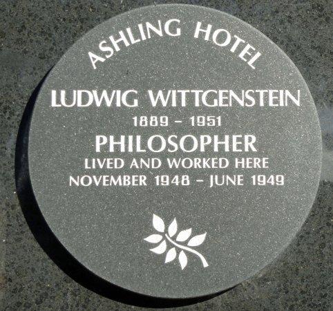 Ashling Hotel: Hotel Plaque