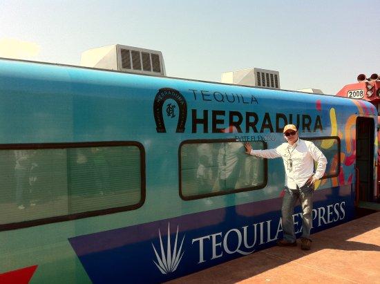 Amatitan, Meksiko: Llegas en tren Tequila Express desde Guadalajara