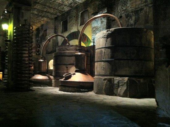 Amatitan, Meksiko: Interior de la vieja fabrica