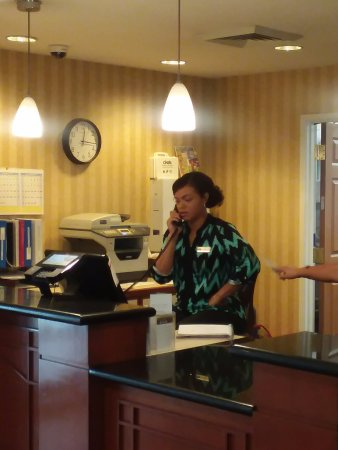 Staybridge Suites Philadelphia - Mt Laurel: Ms. Kelly - Hostess of the Year. Thank you very much