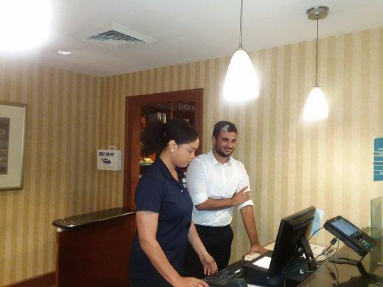 Staybridge Suites Philadelphia - Mt Laurel: Ms. Kelly & Mr. Dom