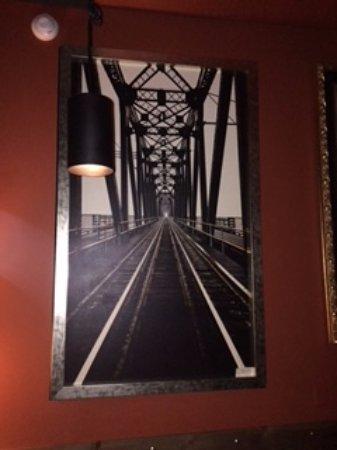 Prince George, Canada: photo print of local historic  bridge