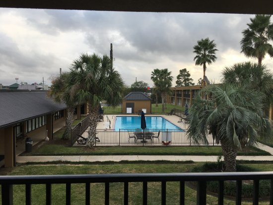 Jennings, LA: looking straight out from my room