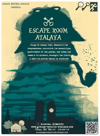 Alcaraz, Hiszpania: Sala de escape