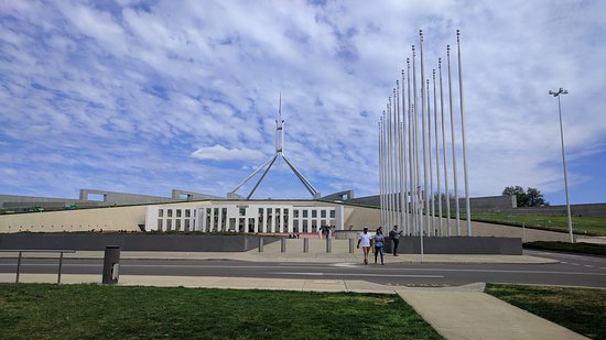 Australian Parliament House Canberra - Picture of Australian