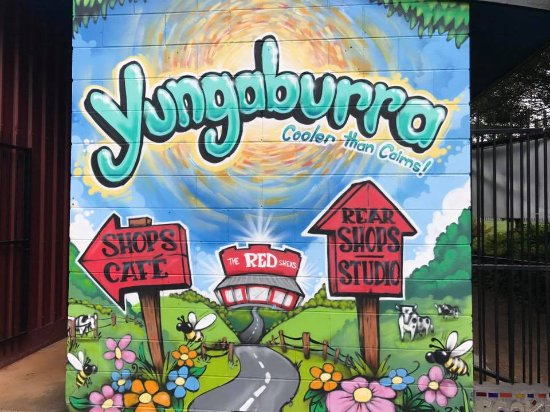 image from the yungaburra town