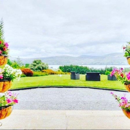 Blessington, Irland: Front door view