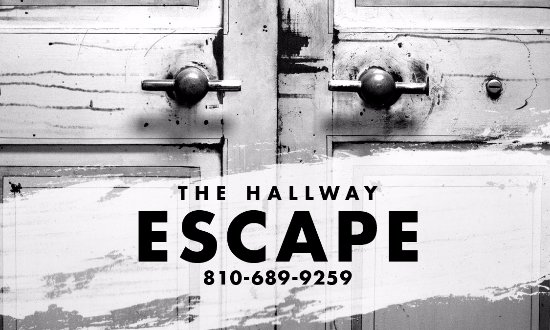 Port Huron, MI: Call or email with any questions. Info@thehallwayescape.com