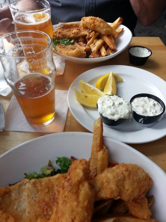 Elk Rapids, มิชิแกน: Awesome Perch Dinner