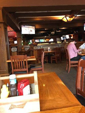 Interior view of pub, Cat & Fiddle Pub 1979 Brown St, Port Coquitlam, British Columbia