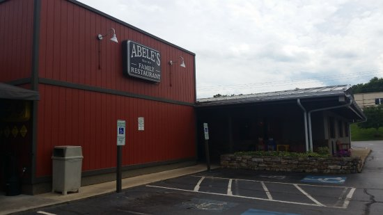 Abele's Family Restaurant: Outside of restaurant
