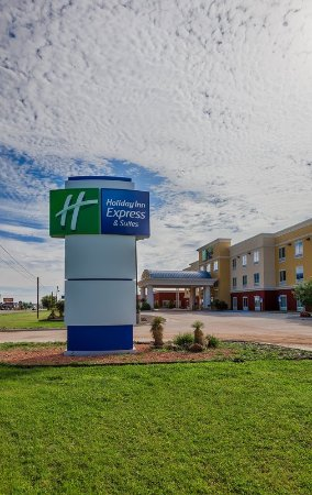 Άλπαϊν, Τέξας: Welcome to Holiday Inn Express Alpine Southeast