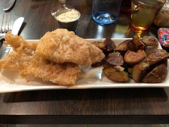 Icelandic Fish & Chips: Dinner!