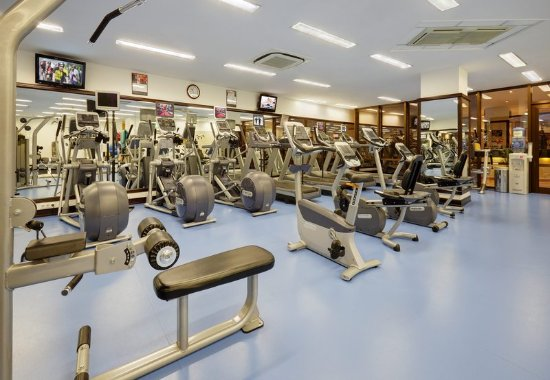 Moscow Marriott Grand Hotel: Fitness Center