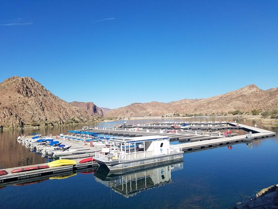 Fort Mohave, AZ: Willow Beach Marina in October 2017
