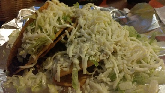 Pancho's Mexican Restaurant : my tacos, the best around!