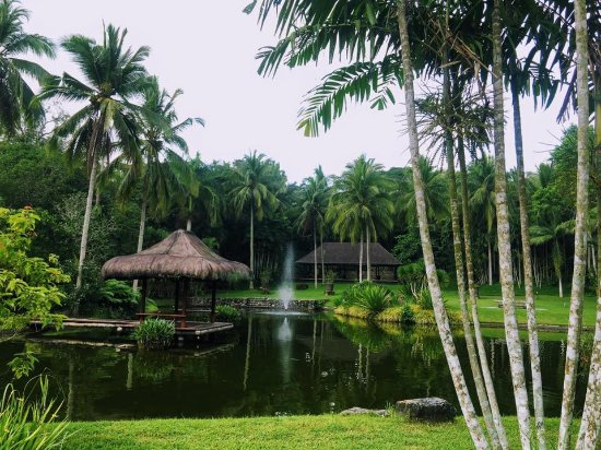 The Farm at San Benito: The Farm is a wellness sanctuary that has many lagoons, ponds, pocket gardens,and meditation noo