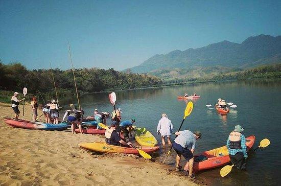 Fullday kayaking to Pak Ou cave - Whisky Village- Weaving village and...