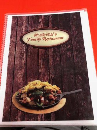 Seffner, FL: the menu cover