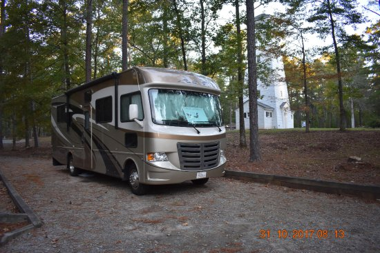 A.H. Stephens State Historic Park: The campground is laid out better than most, with about half of the campsites being pull-through