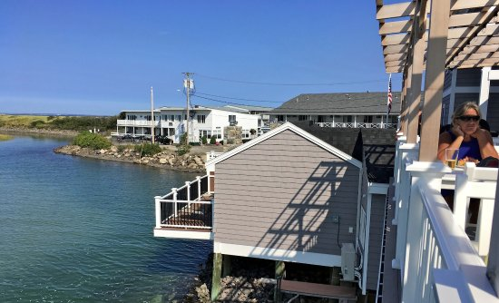 Norseman Resort: View of Tidal Suites from the Lobster House