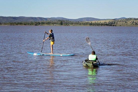Biloela, Australia: SUP and Kayaking