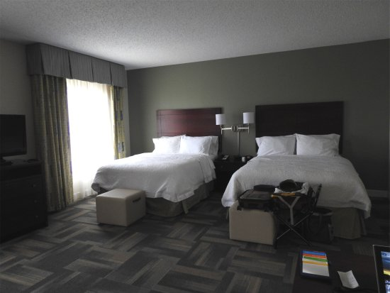 Hampton Inn & Suites Orlando - South Lake Buena Vista: beds comfortable