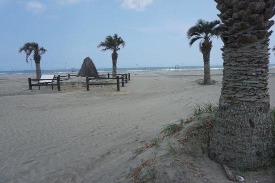 Sanmu, Japan: 海岸の様子