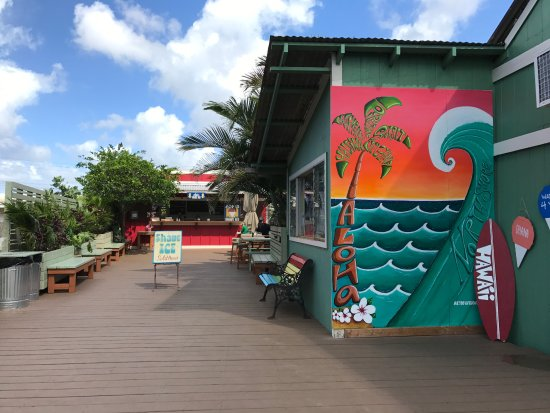 Aoki's Shave Ice : The new Aoki's