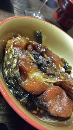 Tenei-mura, Japan: 鯉料理