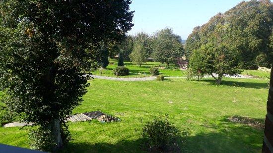 Hotel La Cour Carree : jardin