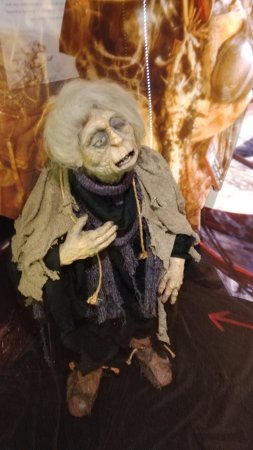 Center for Puppetry Arts: The Junk Lady, from the Labyrinth exhibit