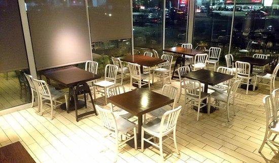 Choolaah Indian Bbq Indoor Seating Area