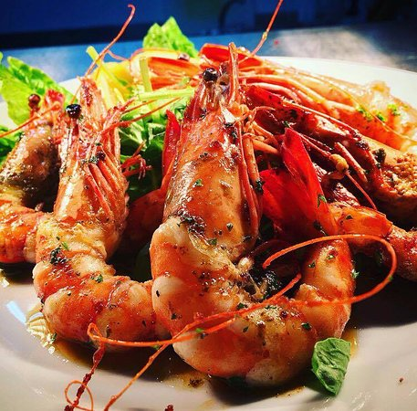 AEGEAN LANE: Pan Fried Prawns