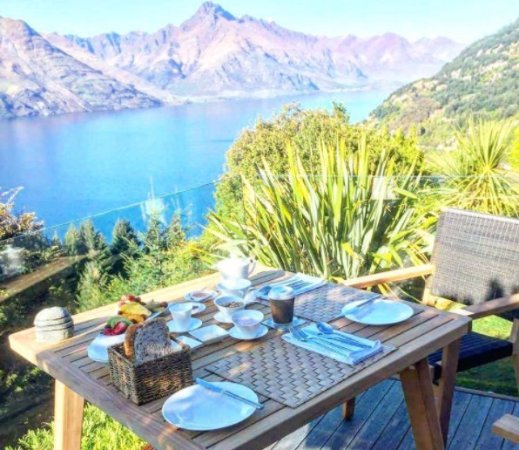 Azur: Breakfast served on your private balcony if you like.