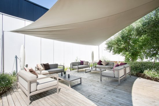 Abtwil, سويسرا: Lounge auf der Terrasse