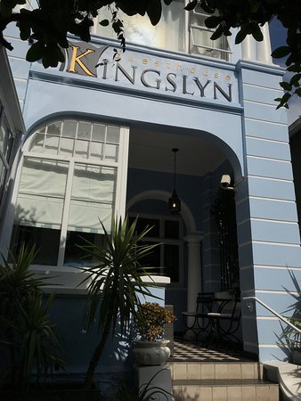 Kingslyn Boutique Guesthouse: We had a great stay at the Kingslyn. A big THANK YOU to Rachel, Deon and their staff. What a fan