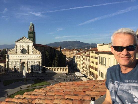 Santa Maria Novella Hotel : View from hotel roof terrace