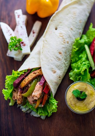 Paneer Shawarma - Picture of Lub Lub Lebanese, Gurugram (Gurgaon ...