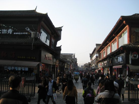 Xiangyang, Chine : この先、臨漢門