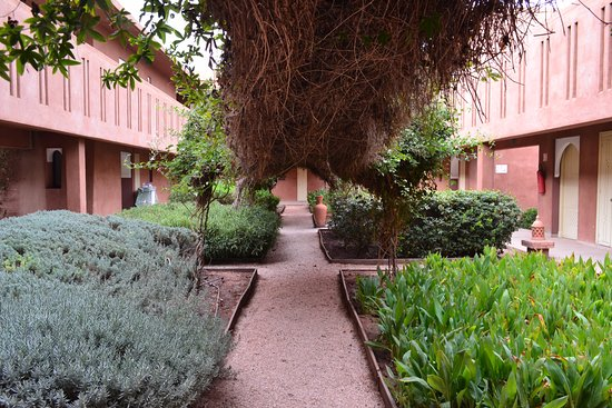 Kenzi Club Agdal Medina: Le jardin d'un des riad