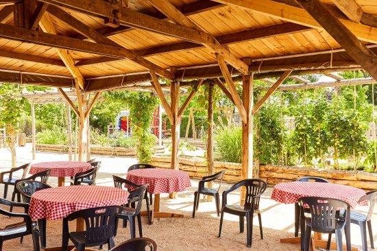 Vendee, Frankrike: Restaurant, terrasse extérieure