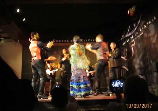 Corral de la Moreria: flamenco group