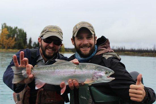 Cooper Landing, AK: Toute une aventure ! Merci Mike Adams pour ton amitié et ton professionnalisme.